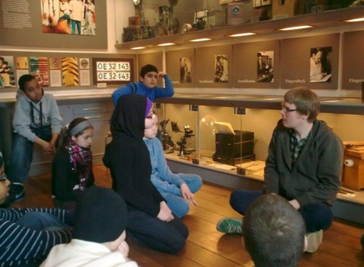 Aktiviteter 20100324 Politihistorisk Museum 5kl - AHI